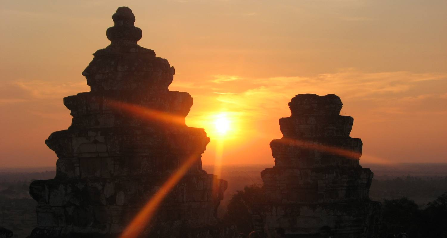 Private Half Day Angkor Wat And Sunset At Bakheng Mountain - Euro Khmer Voyages