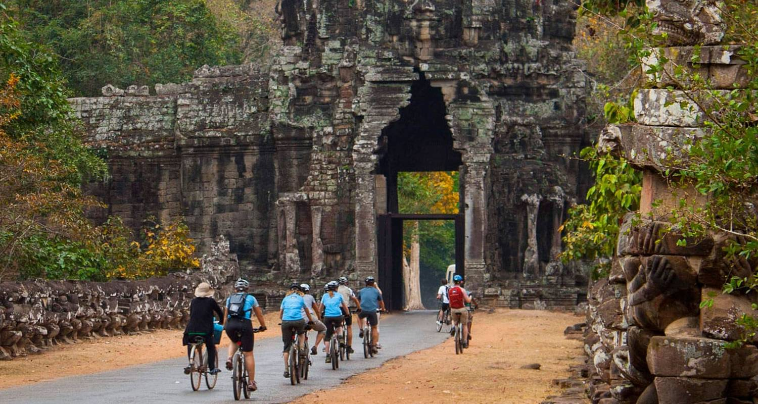 Angkor Cycling and Trekking Tour  - Bravo Indochina Tours