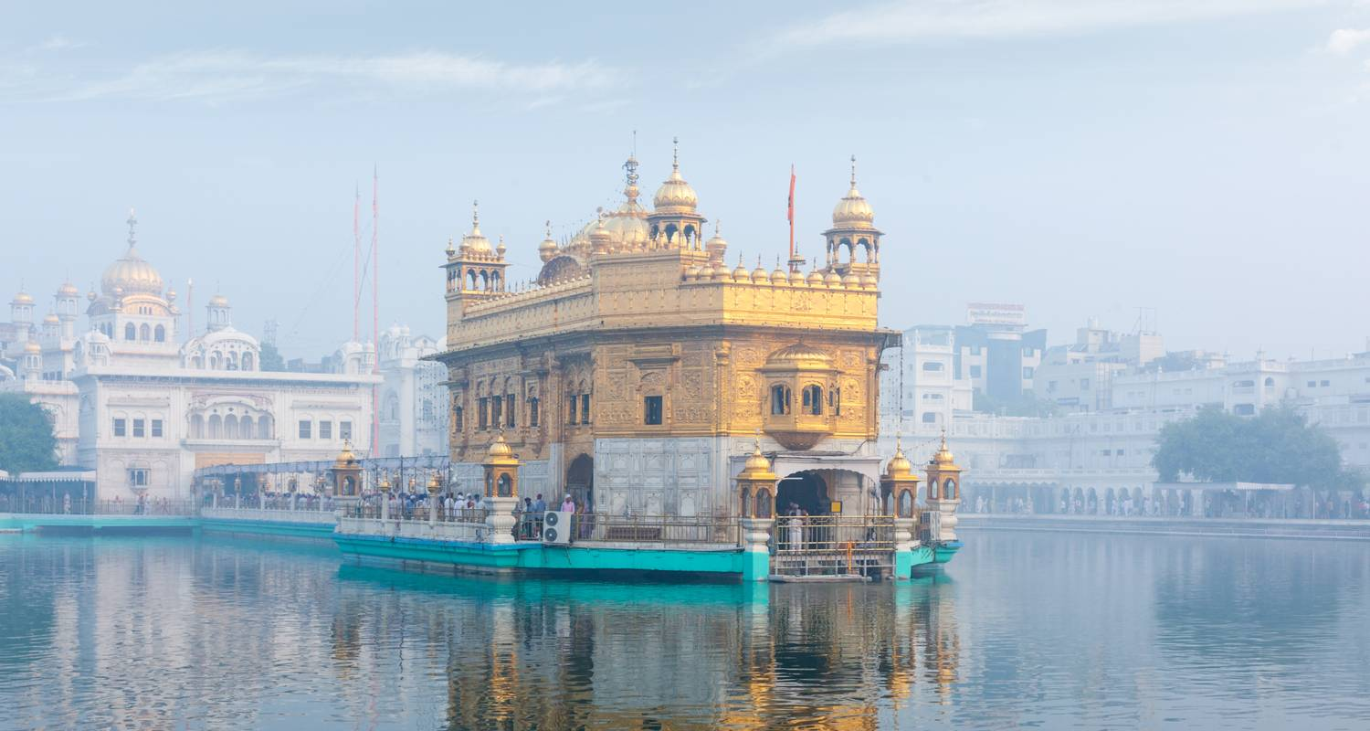 8 Days Golden Triangle Tour with Mystical Golden Temple of Amritsar - Travel Con