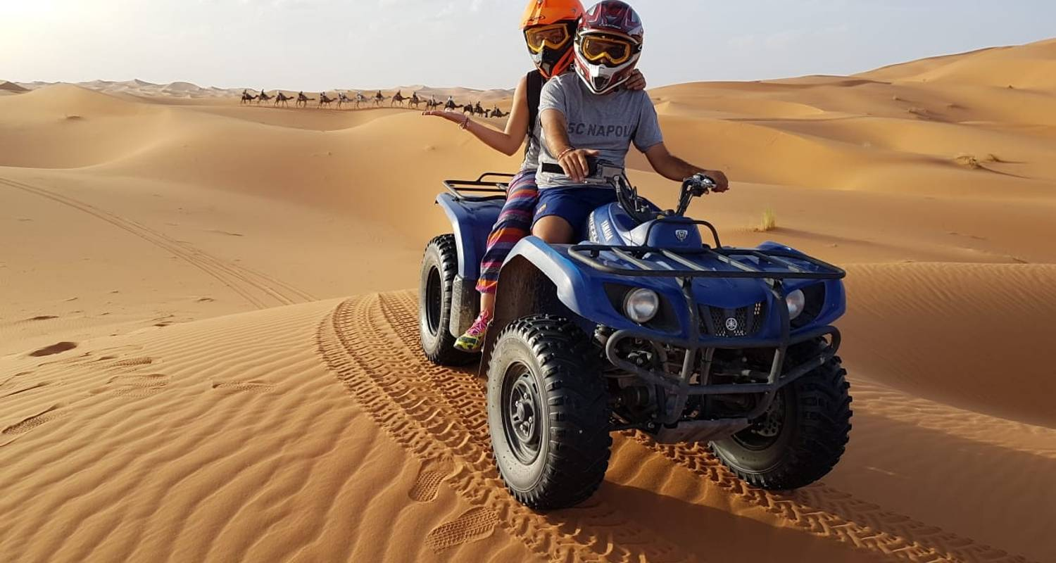 5 day Sahara Quad Biking Adventures - TouaregTrails