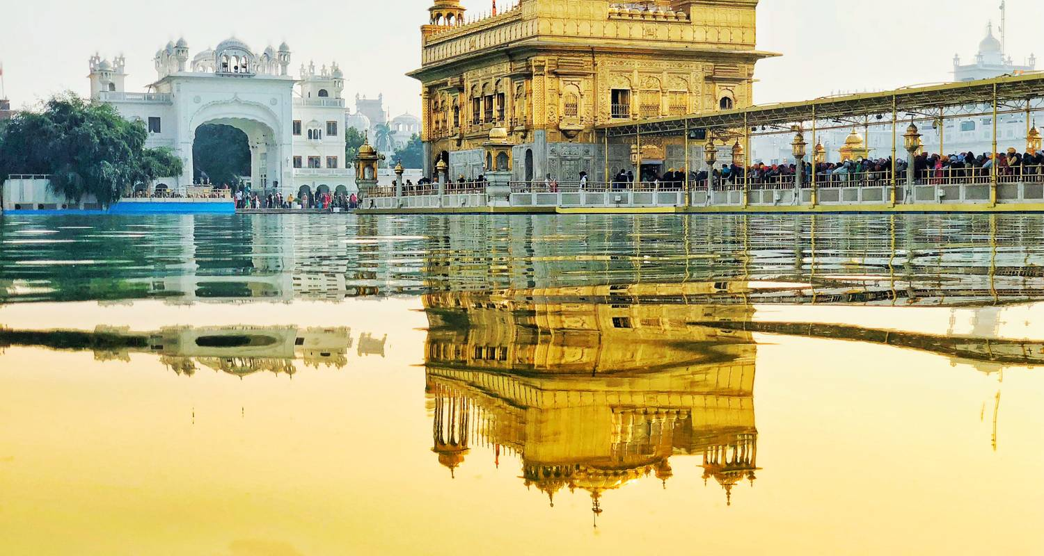 Golden Triangle with Amritsar (Guaranteed departure with 2 persons)  - Kapil India Tours