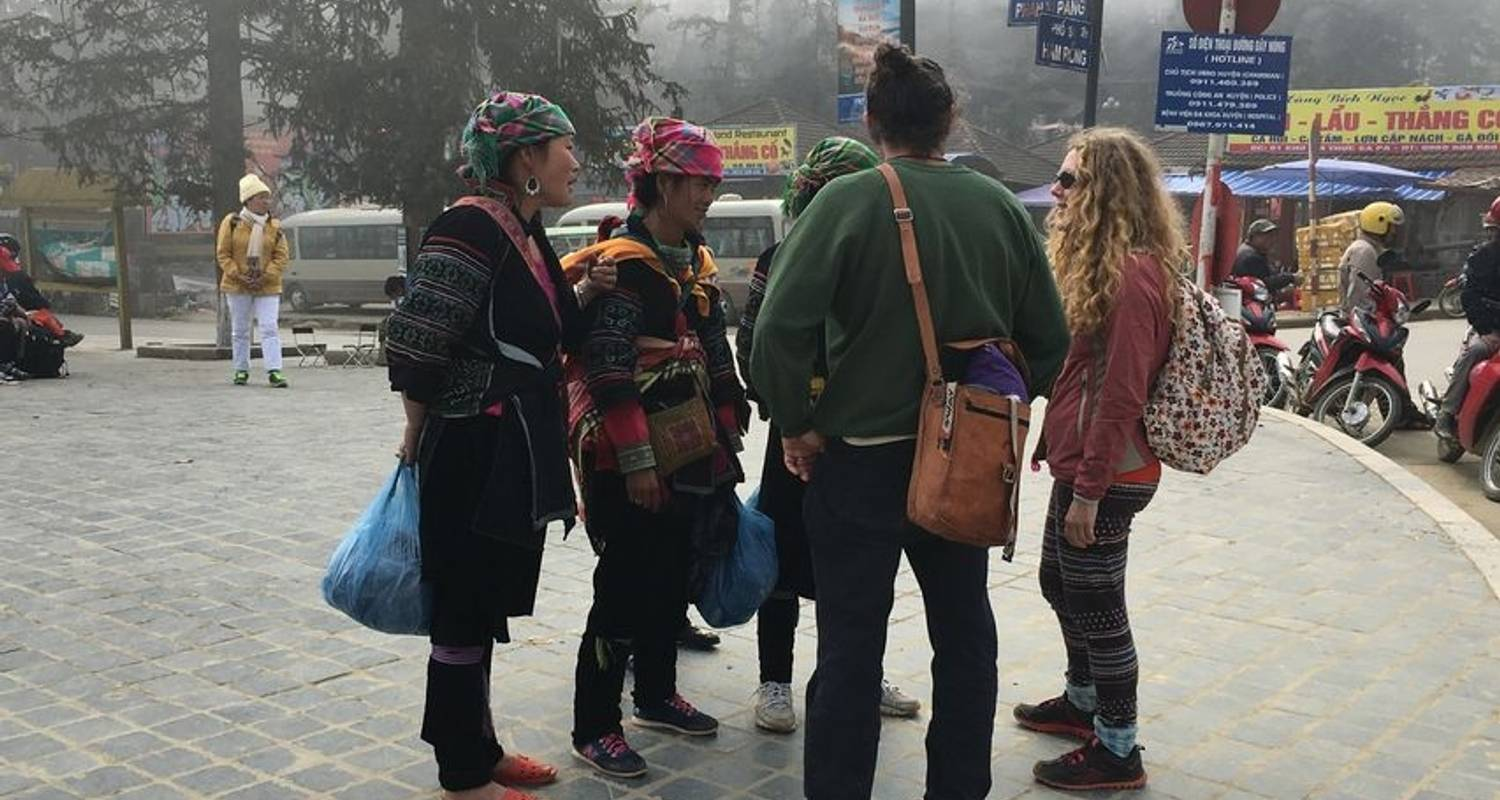 Sapa trekking: Muong Hum Market and Sapa Tribal Villages Explore 4 days - Crossing Vietnam Tour