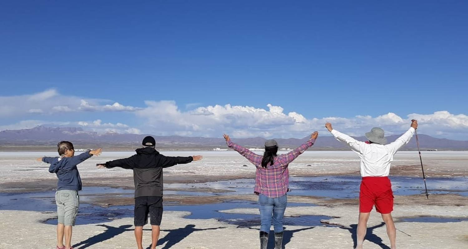 5 Days Uyuni Salt Flats and Colorfull Lagoons from  La Paz, Bolivia - Joker Expedition
