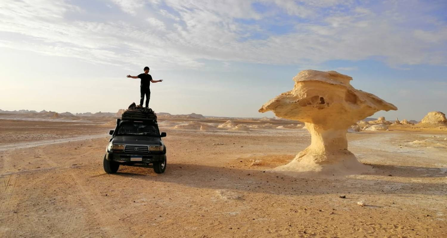 Cairo : 3 Days Bahariya Oasis + Camping in the white desert with Round Trip Transfers  - Egypt Best Holidays