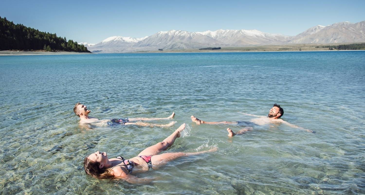 9 Day - South Island Tour (all inclusive with activities) - Kiwi Experience