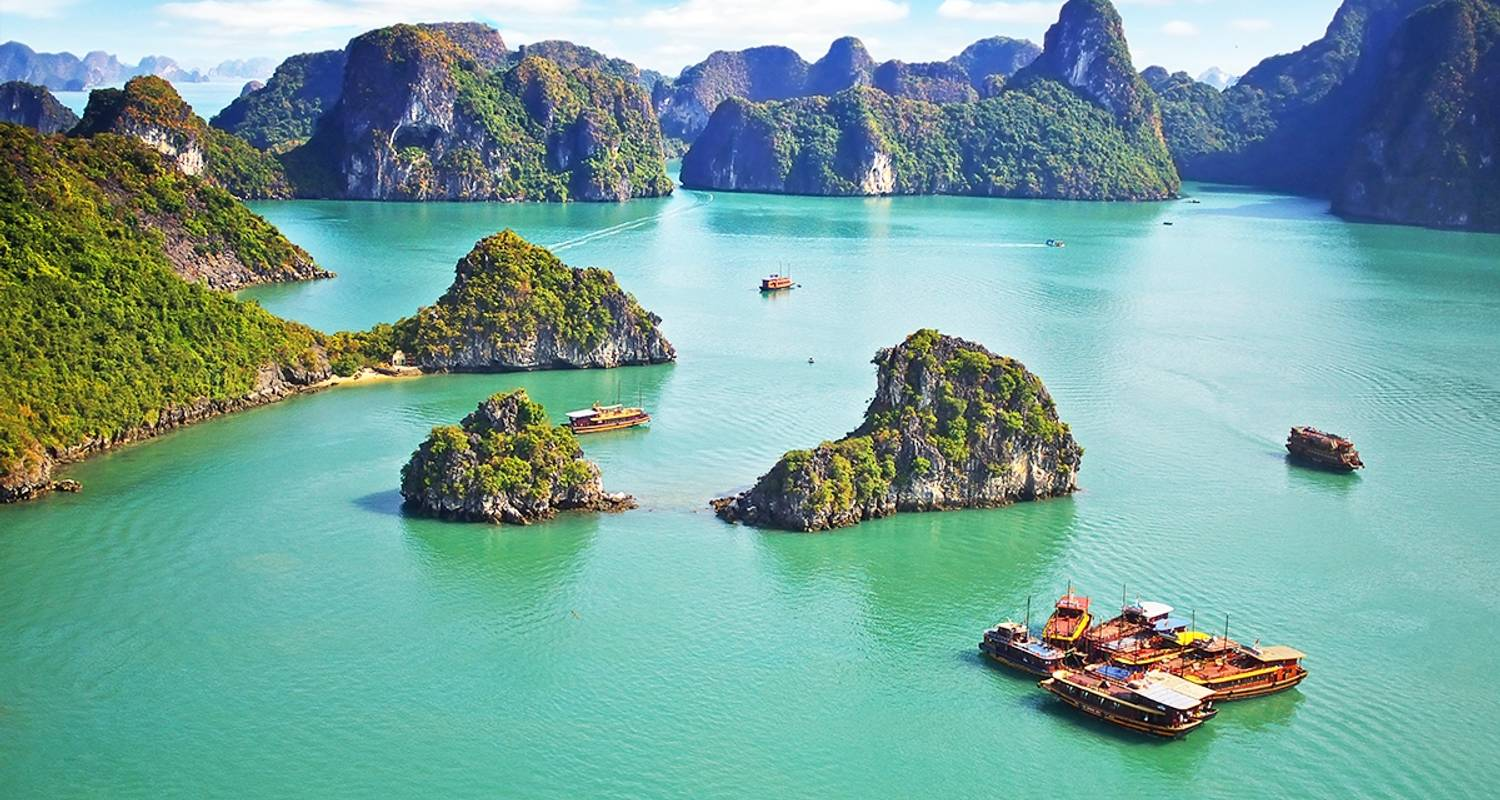 Halong Bay - Ban Gioc waterfall and Ba Be Lake 5 days 4 nights - Mr Linh's Adventures