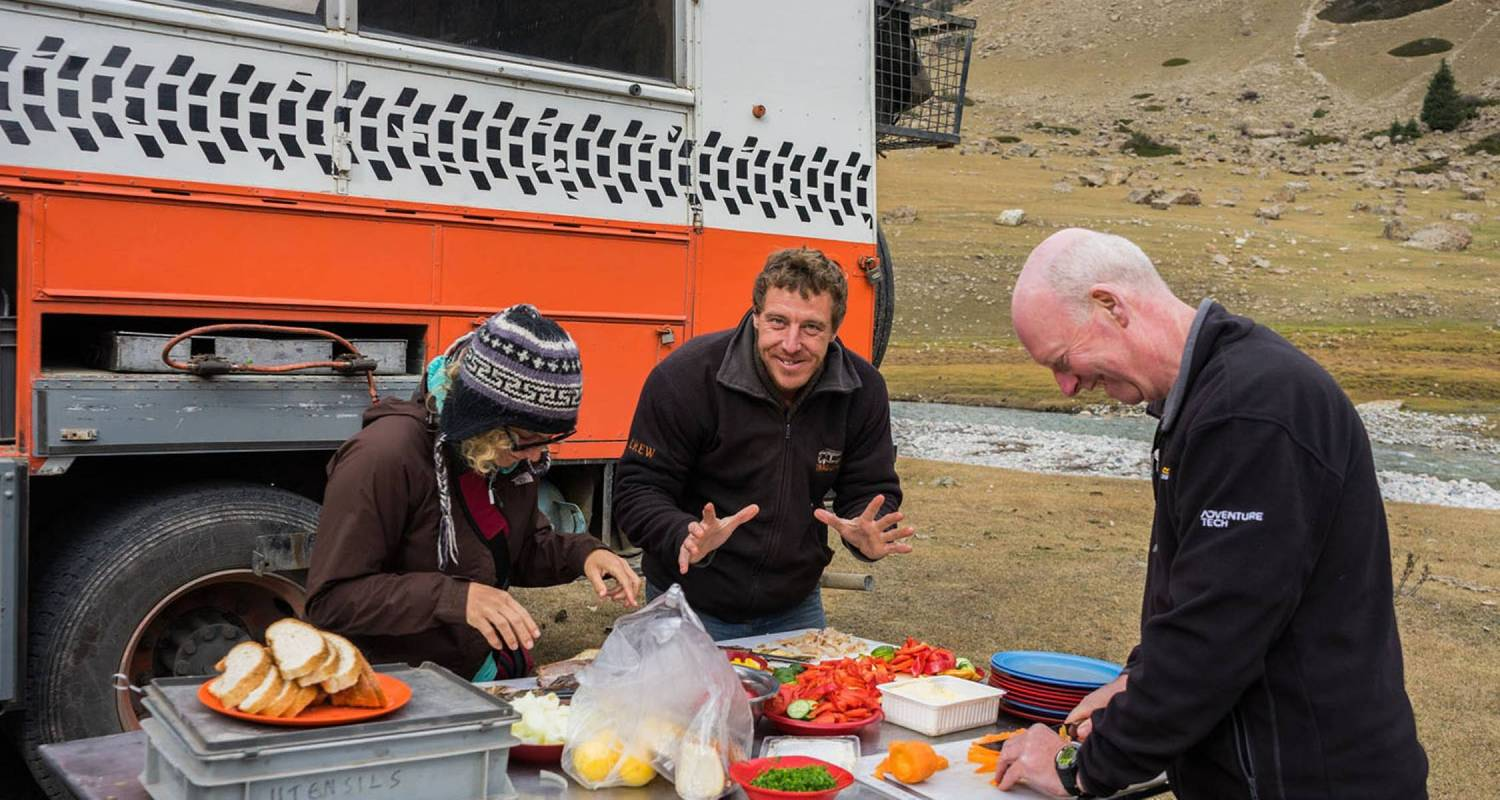 Highlights of the Silk Road Westbound - 56 Days - On The Go Tours