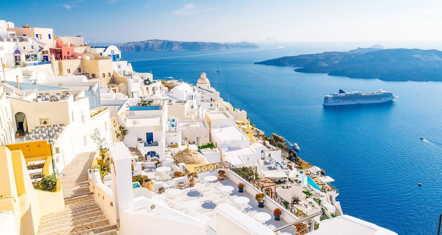 4 Day Greek Islands Hopping: Visit Paros, Mykonos & Tour in Santorini to Admire the Famous Caldera Sunset - Private Tours Greece