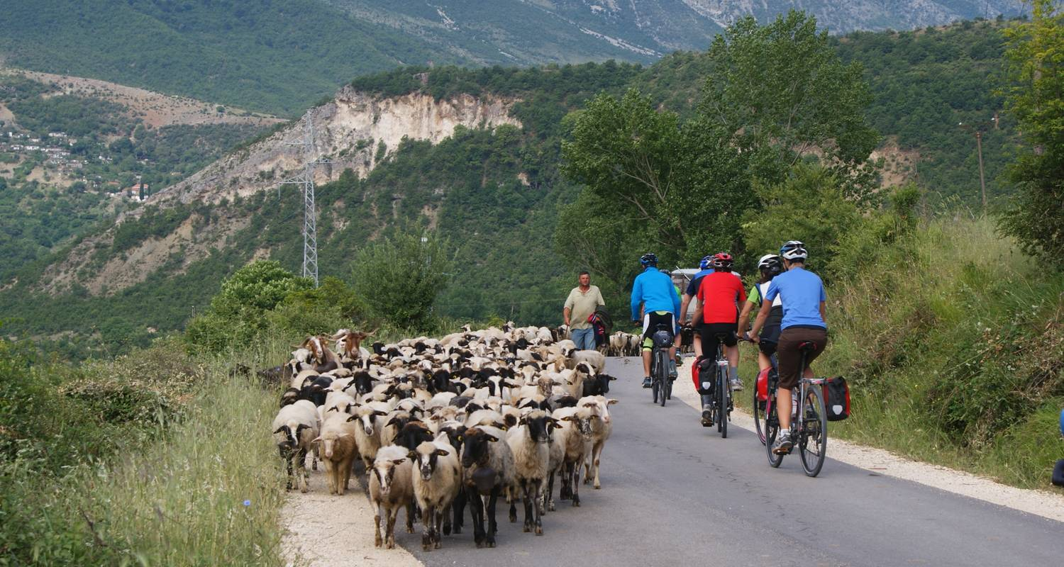 Accursed Mountains ( North Albania + North Macedonia ) - Cycle Albania