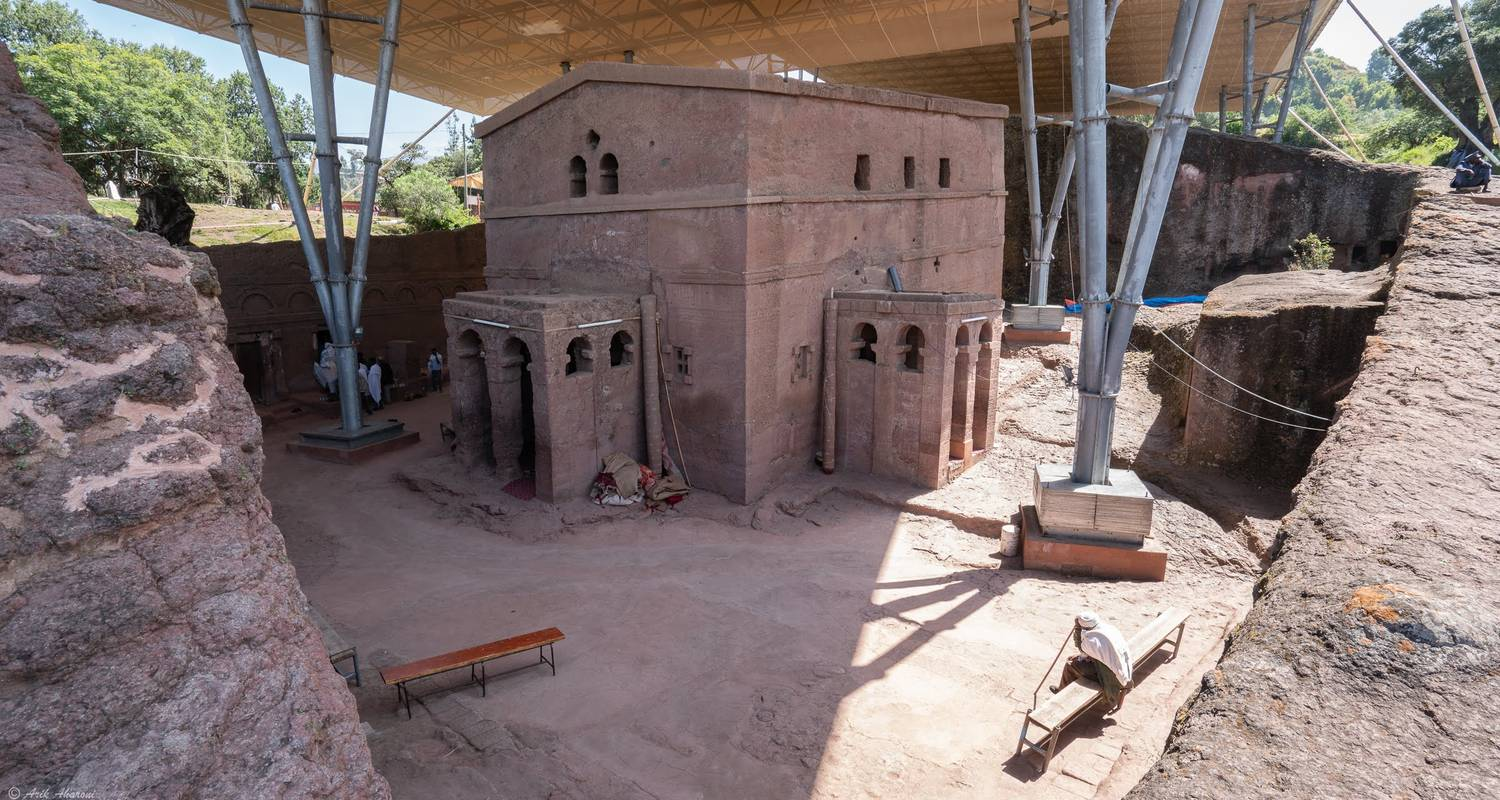 Trip to the Rock-Hewn Churches of Lalibela - FKLM Ethiopia Tour Travel