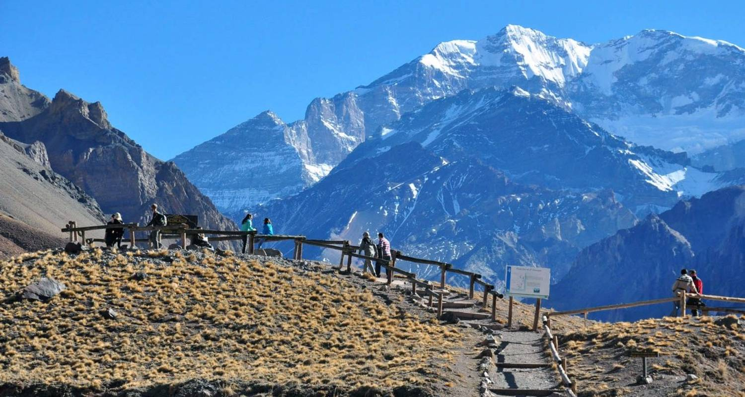 Mendoza World Wine Capital & Mount Aconcagua Tour - 4 Tage - Click Tours