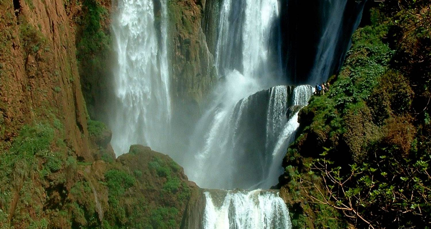 Casablanca to Marrakech & Ouzoud Falls - Morocco Custom