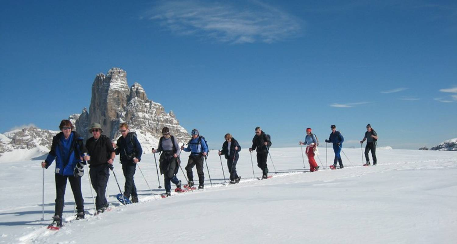 Snowshoeing in the Dolomites - Exodus Travels