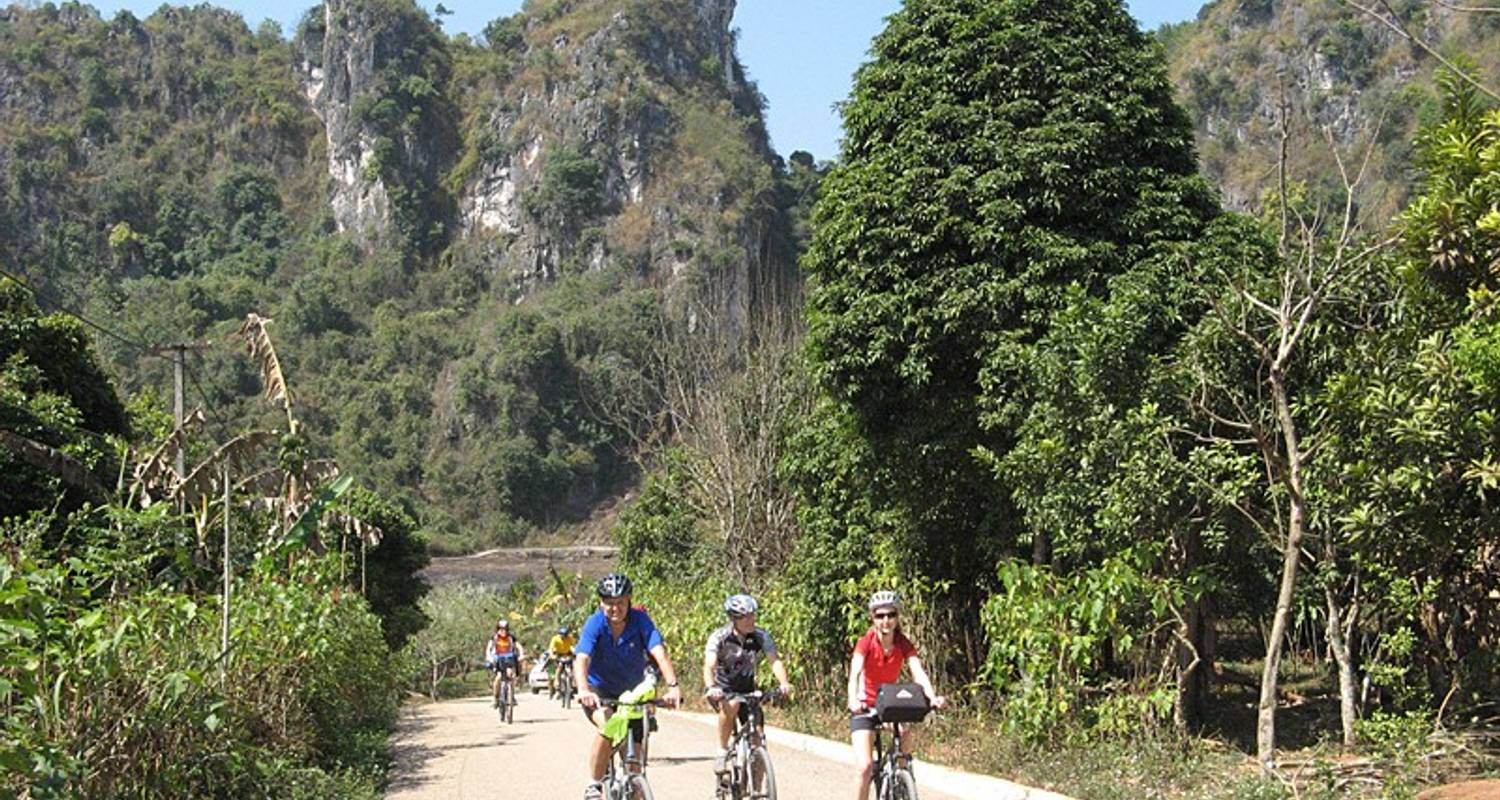 Cycling in Laos - Exodus Travels