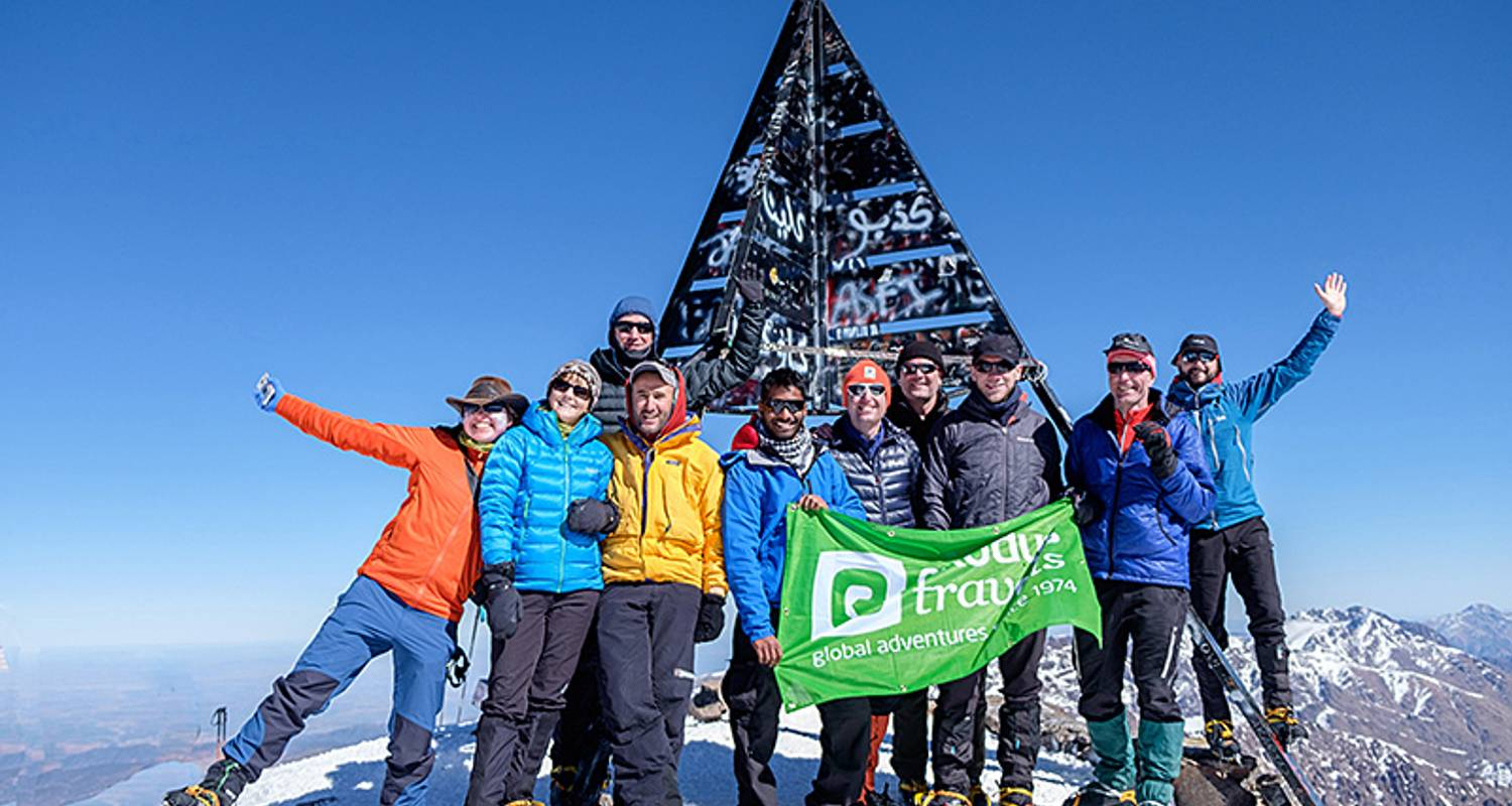 Berg Toubkal Winterklettern - Exodus Travels