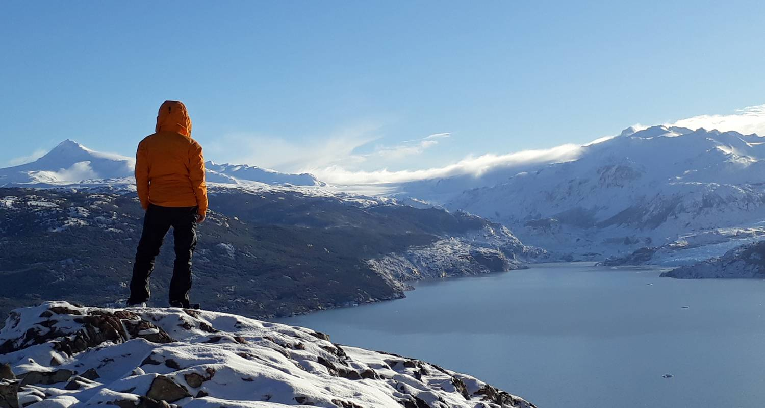 Winter Trekking Tour in Chiles Patagonien - OneSeed Expeditions