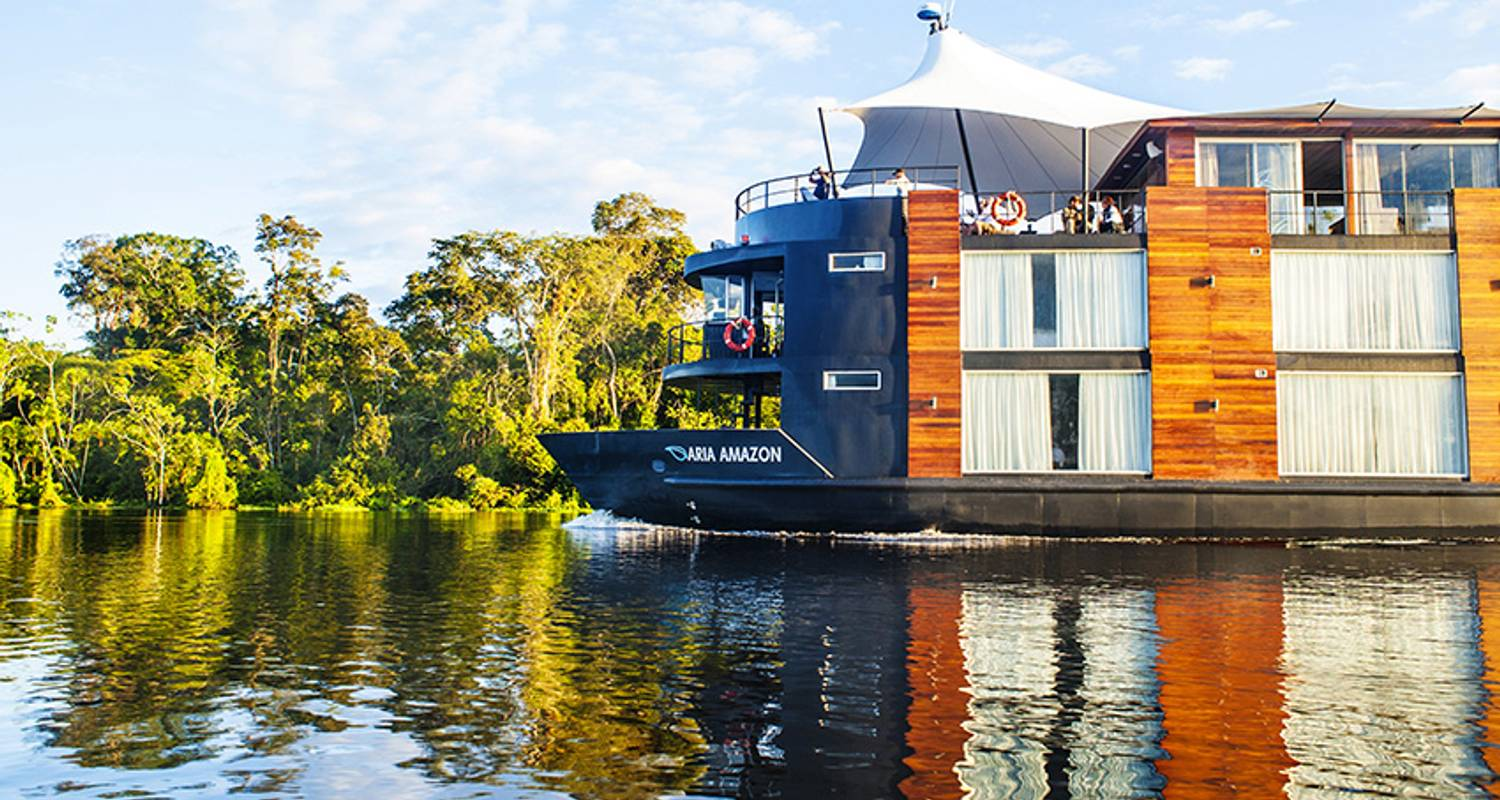 ARIA AMAZON - Discovery Cruise 3 Night - Low Water Season (June-October) - Aqua Expeditions