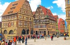 Romantic Road & Fairy Tale Road featuring Berlin, Munich, Hamburg and Rothenburg (Berlin to Munich) Tour