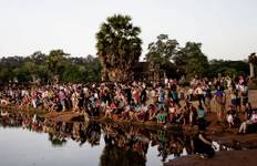 Sunrise At Angkor Wat Temple Tour
