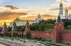 Jewels of Russia (from Moscow to St Petersburg) Tour