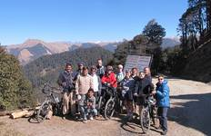 Cycling India\'s Hill Stations Tour