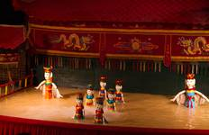 Vietnamese Water Puppets & Dinner On Cruise in Ho Chi Minh City Tour