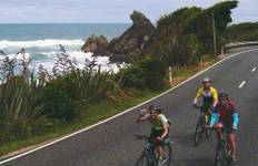 West Coast and Glaciers Cycle (from Queenstown to Christchurch) Tour