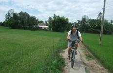 2-Day Meandering Mekong Delta Bike Tour with Homestay Tour