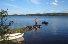 Fishing in Lapland Tour