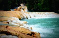 Palenque Ruins, Agua Azul & Misol-Ha Waterfalls (from/to Palenque) Tour