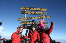 Mount Kilimanjaro Machame Route Tour