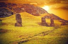 Santiago City Stay with Easter Island Tour