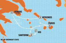 Greek Island Hopper (Fixed Itinerary) Tour