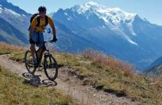 Mont Blanc by Mountain Bike Tour