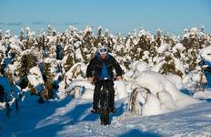 Fat biking in Finland Tour