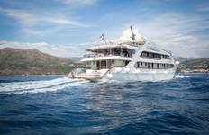 8 days cruise from Split to Dubrovnik Tour