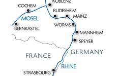 New Year : New Year on Two Rivers - The Romantic Rhine Valley and the Picturesque Moselle Tour