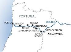 Family Club: Porto, the Douro valley (Portugal) and Salamanca (Spain) Tour