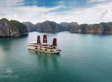 Hanoi Hilton Opera- Orchid Cruises Halong Bay 5Days/4Nights Tour