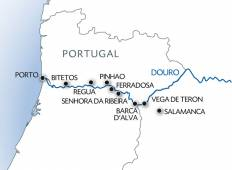 Porto, the Douro Valley (Portugal), and Salamanca (Spain) Tour
