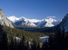 Canada\'s Winter Wonderland  (Edmonton, AB to Banff, AB) Tour