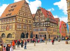 Romantic Road & Fairy Tale Road featuring the Christmas Markets of Berlin, Munich, Hamburg and Rothenburg (Berlin to Munich) Tour