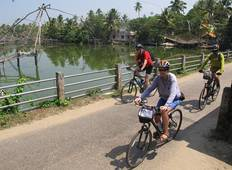 Cycle the Coast of Kerala Tour