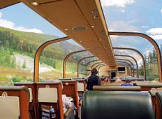 Canadian Rockies by Train featuring the Calgary Stampede (Calgary, AB to Vancouver, BC) Tour