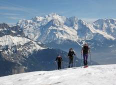 Chamonix Snowshoeing Weekend Tour