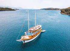 8-day Split Return cruise - A-Category boat, 18-39s Tour