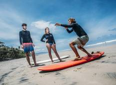5 Days SANTA TERESA Surf Camps Lessons by Selina Surf Club Tour