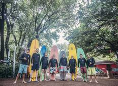 8 Days Surf Lesson at Tamarindo Tour