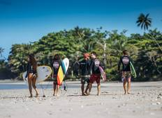 Surf Guiding Package 8 Days in Santa Teresa North Tour