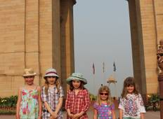 Family Taj and Palaces (Summer Itinerary) Tour